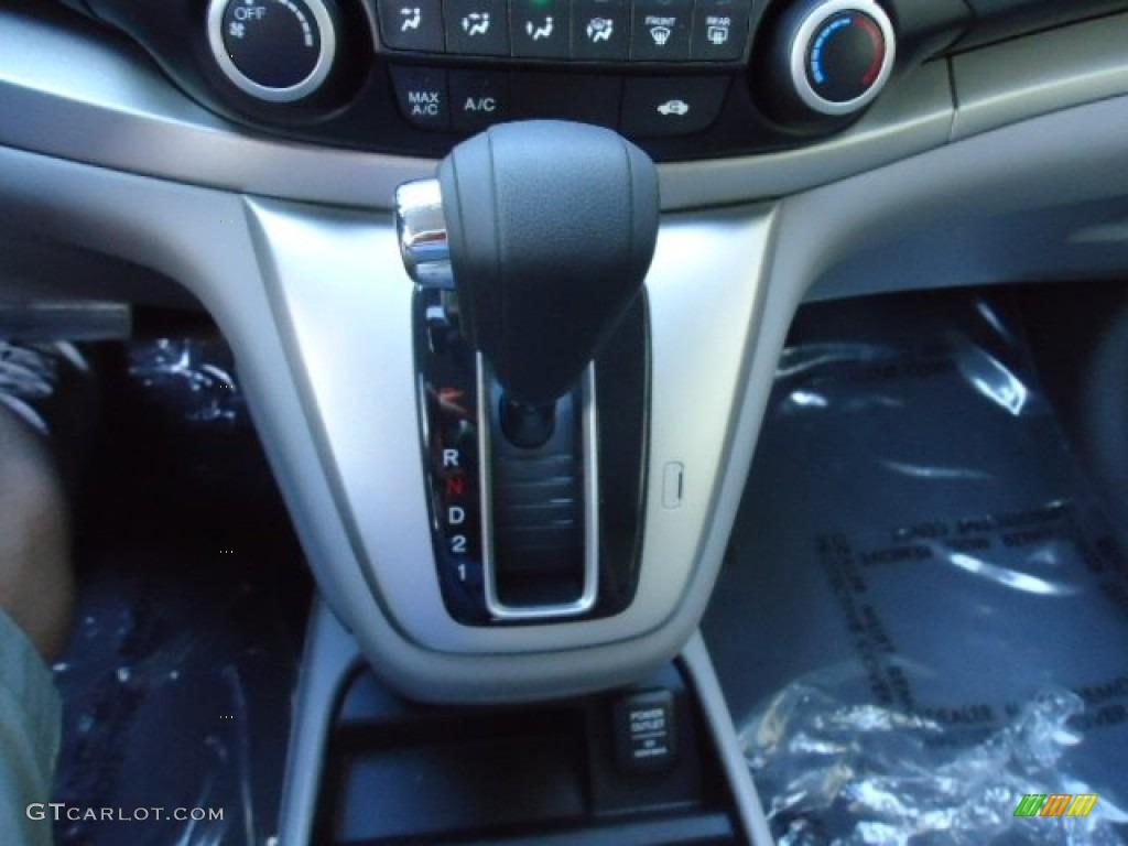 2012 CR-V EX 4WD - Alabaster Silver Metallic / Gray photo #28