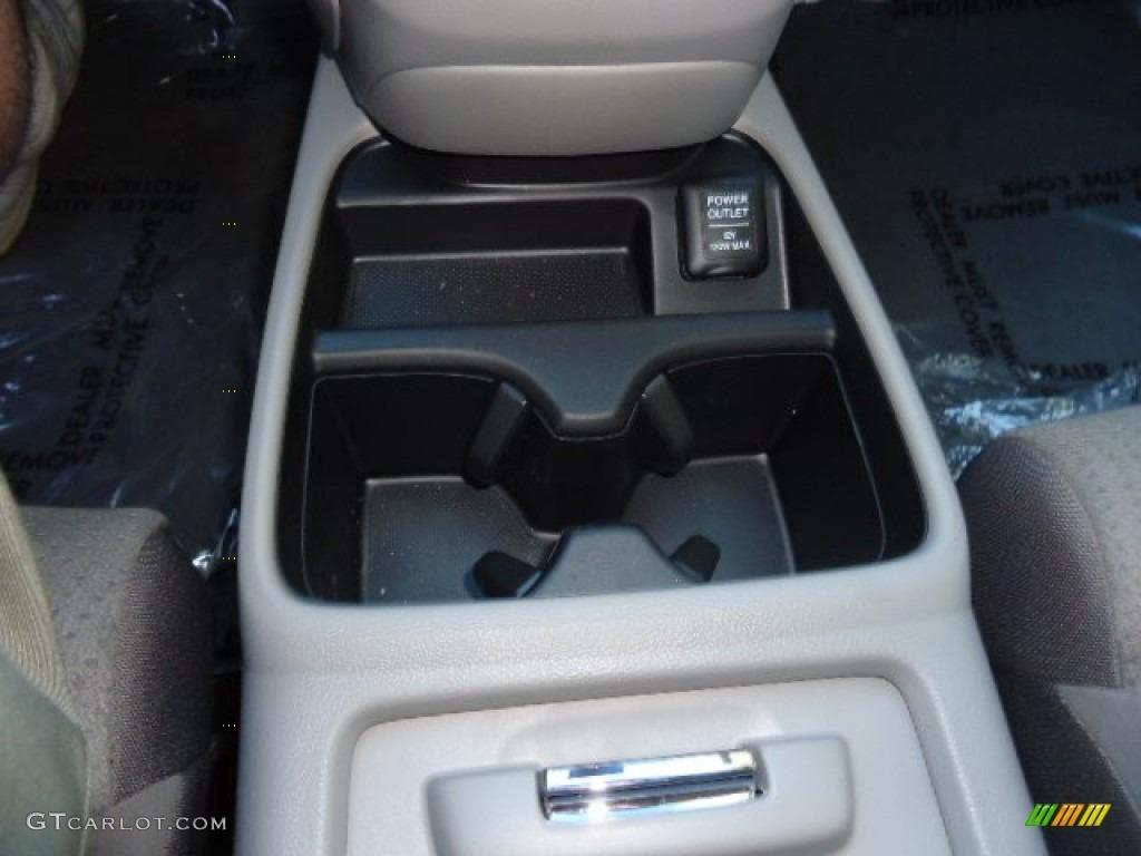 2012 CR-V EX 4WD - Alabaster Silver Metallic / Gray photo #29