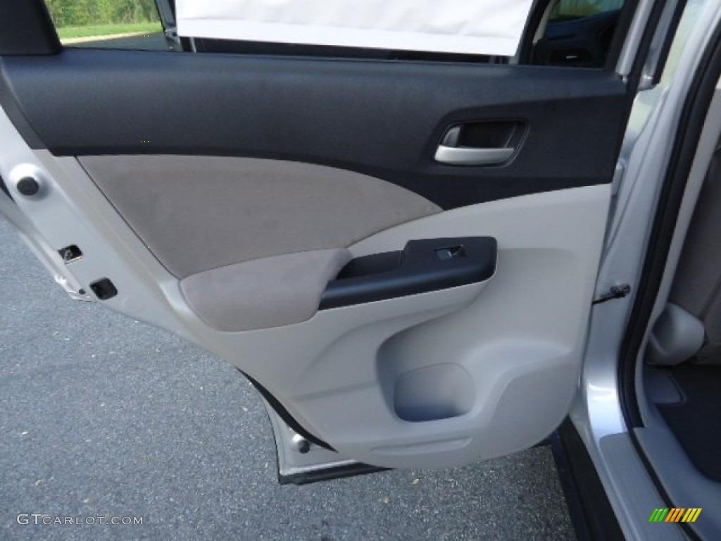 2012 CR-V EX 4WD - Alabaster Silver Metallic / Gray photo #35