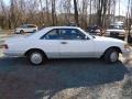 1989 S Class 560 SEC Coupe White