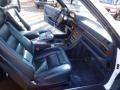 1989 S Class 560 SEC Coupe Blue Interior
