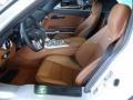 2012 SLS AMG designo Light Brown Natural Woven Interior