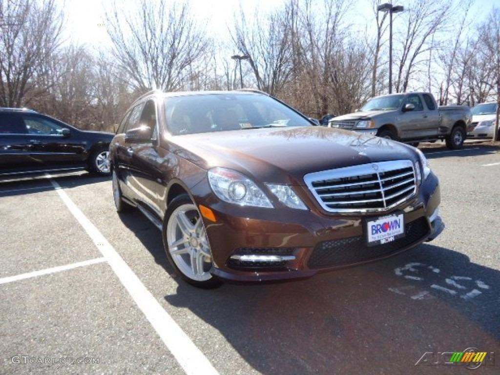 2012 cuprite brown metallic mercedes benz e 350 4matic for Mercedes benz genuine polar white touch up paint code 149