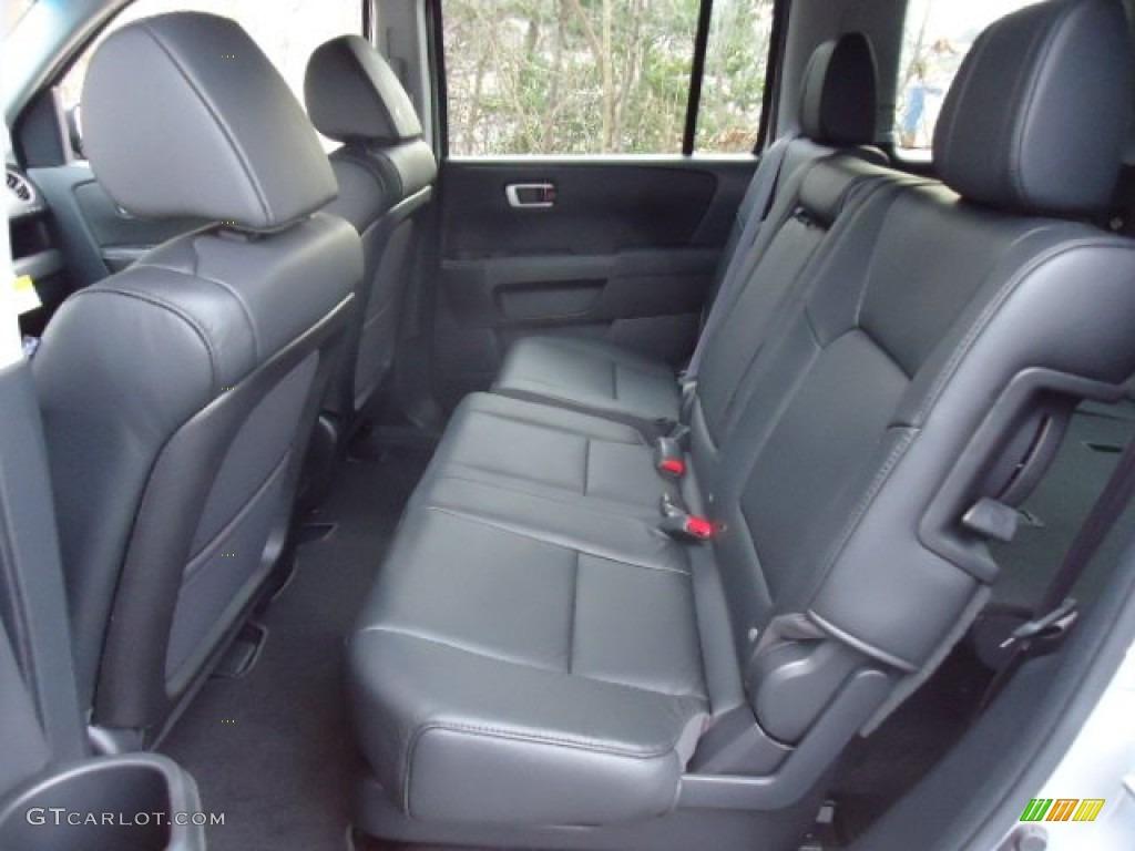 Black Interior 2012 Honda Pilot EX-L 4WD Photo #65055364 | GTCarLot ...