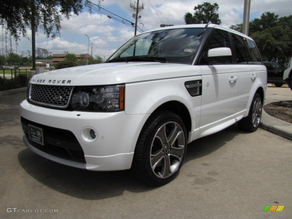 fuji white 2012 land rover range rover sport autobiography exterior photo 65060389. Black Bedroom Furniture Sets. Home Design Ideas