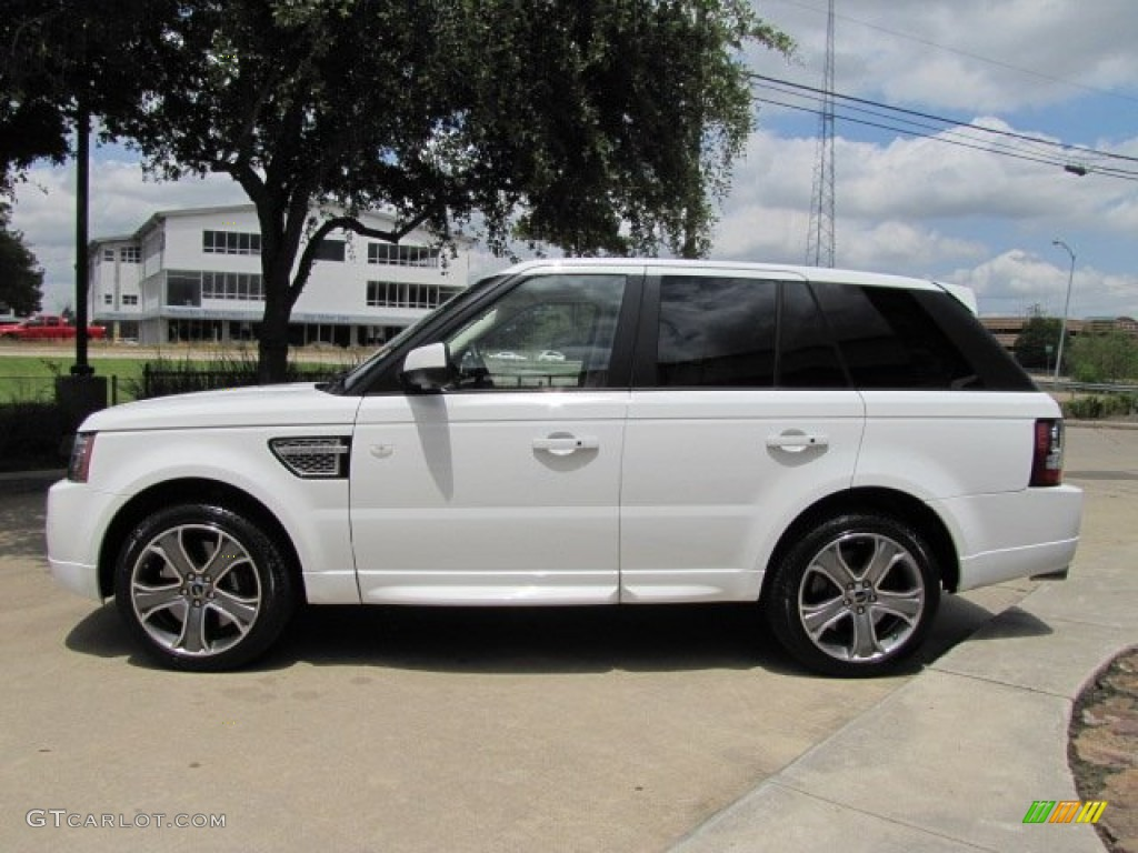 fuji white 2012 land rover range rover sport autobiography. Black Bedroom Furniture Sets. Home Design Ideas