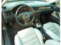 Silver/Ebony Black 2003 Audi RS6 Interiors