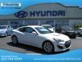 2013 Monaco White Hyundai Genesis Coupe 2.0T  photo #1
