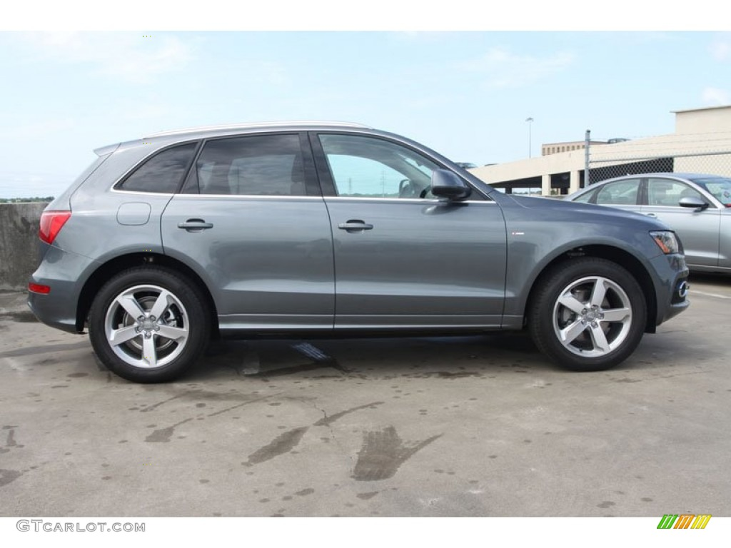 2012 Monsoon Gray Metallic Audi Q5 3.2 FSI quattro #65042179 Photo #8 ...