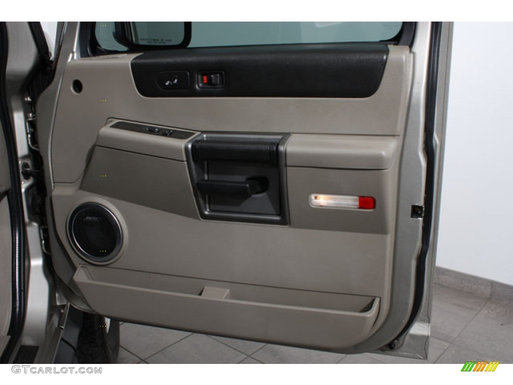 2003 hummer h2 suv wheat door panel photo 65098098