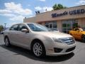 2010 Smokestone Metallic Ford Fusion SEL  photo #2