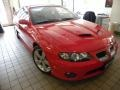 Torrid Red 2006 Pontiac GTO Coupe