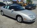 Silver 2001 Saturn S Series SC2 Coupe