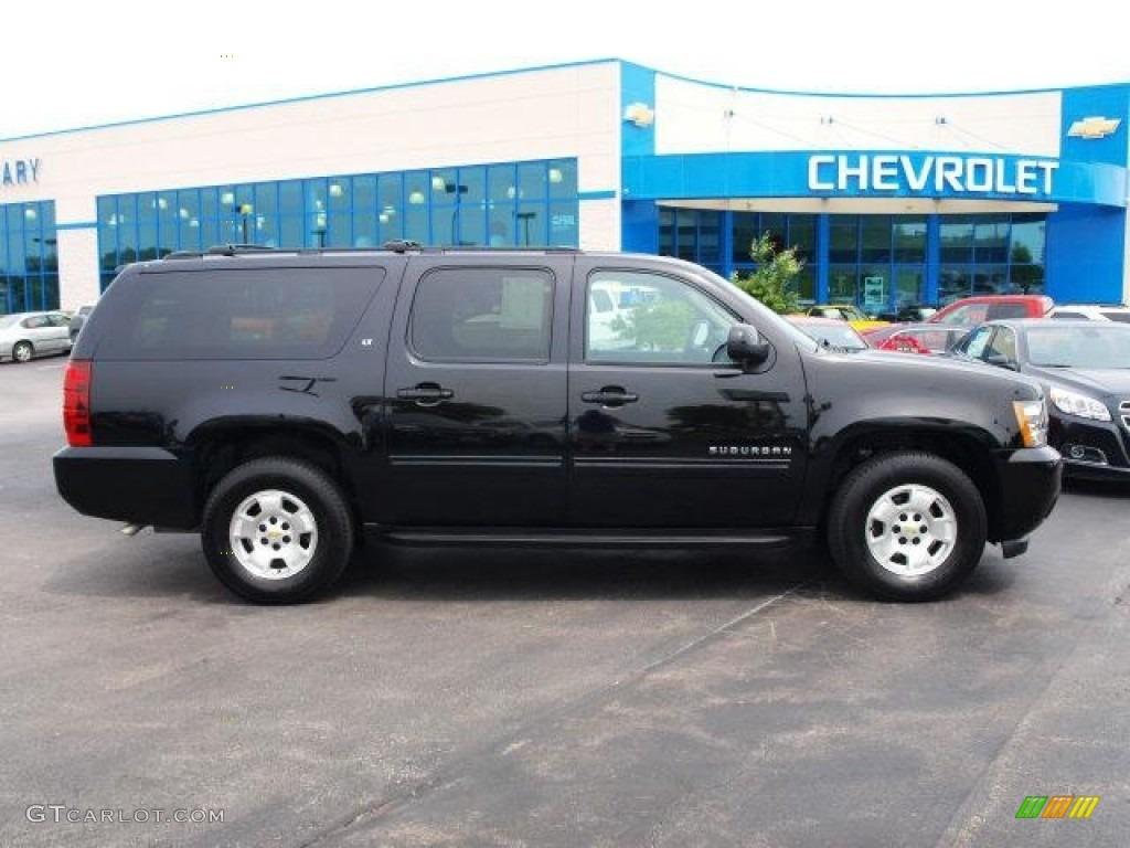 2012 black chevrolet suburban lt 65116582 car color galleries. Black Bedroom Furniture Sets. Home Design Ideas