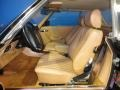 Front Seat of 1986 SL Class 560 SL Roadster