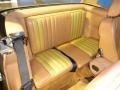 Rear Seat of 1986 SL Class 560 SL Roadster