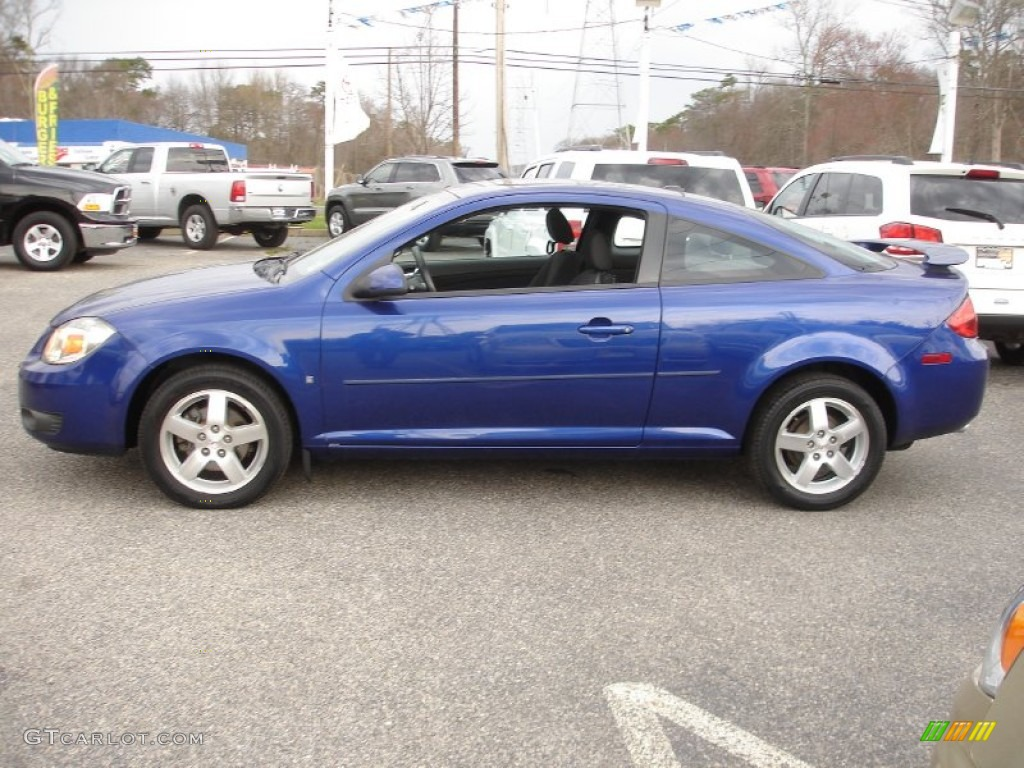 Blue Streak Metallic 2007 Pontiac G5 Standard G5 Model Exterior Photo 65130763 Gtcarlot Com