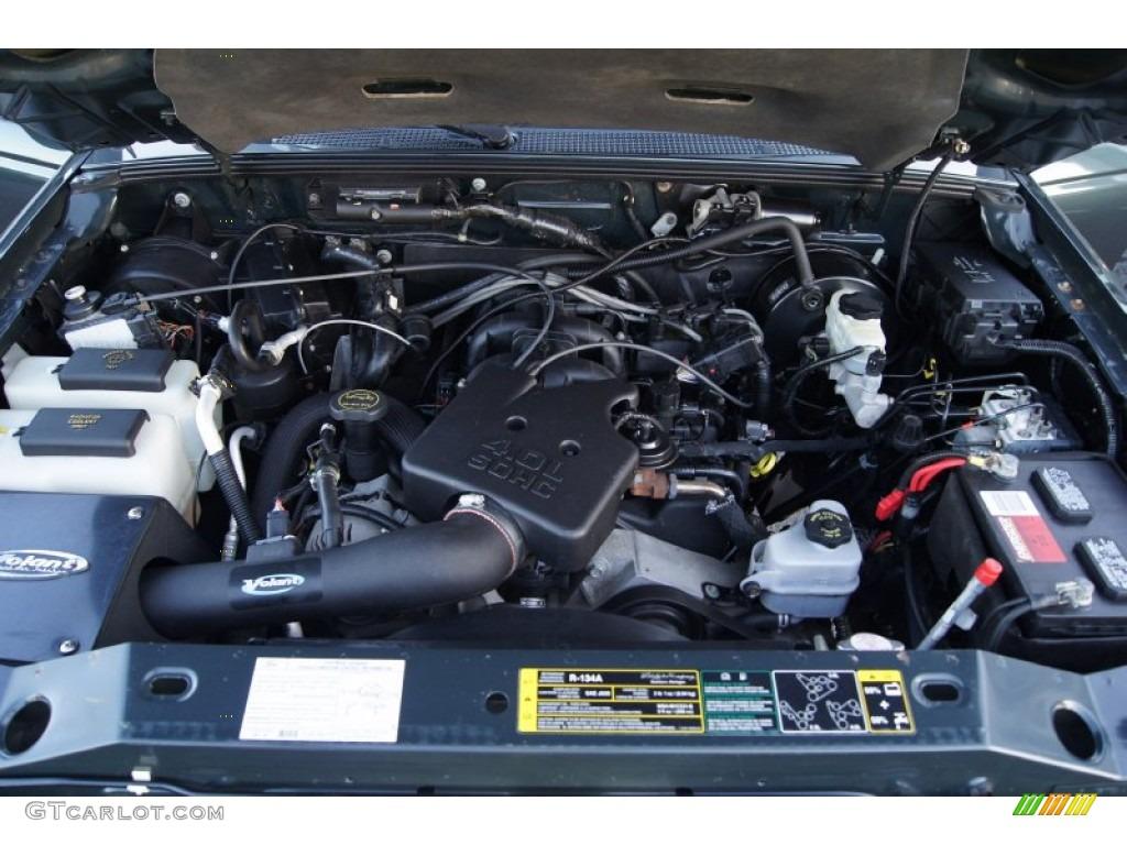 1992 Ford Ranger Custom Supercab News >> 2005 Ford Ranger FX4 Off-Road SuperCab 4x4 Engine Photos | GTCarLot.com