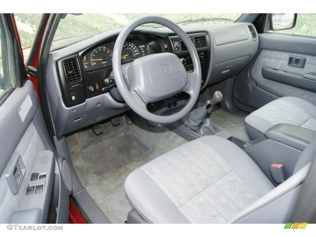 Oak Interior 2000 Toyota Tacoma V6 Trd Extended Cab 4x4