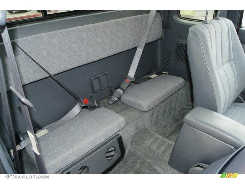 2000 Toyota Tacoma V6 Trd Extended Cab 4x4 Rear Seat Photo