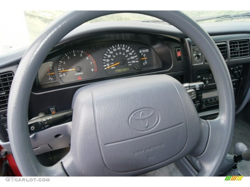 2000 Toyota Tacoma V6 Trd Extended Cab 4x4 Oak Steering
