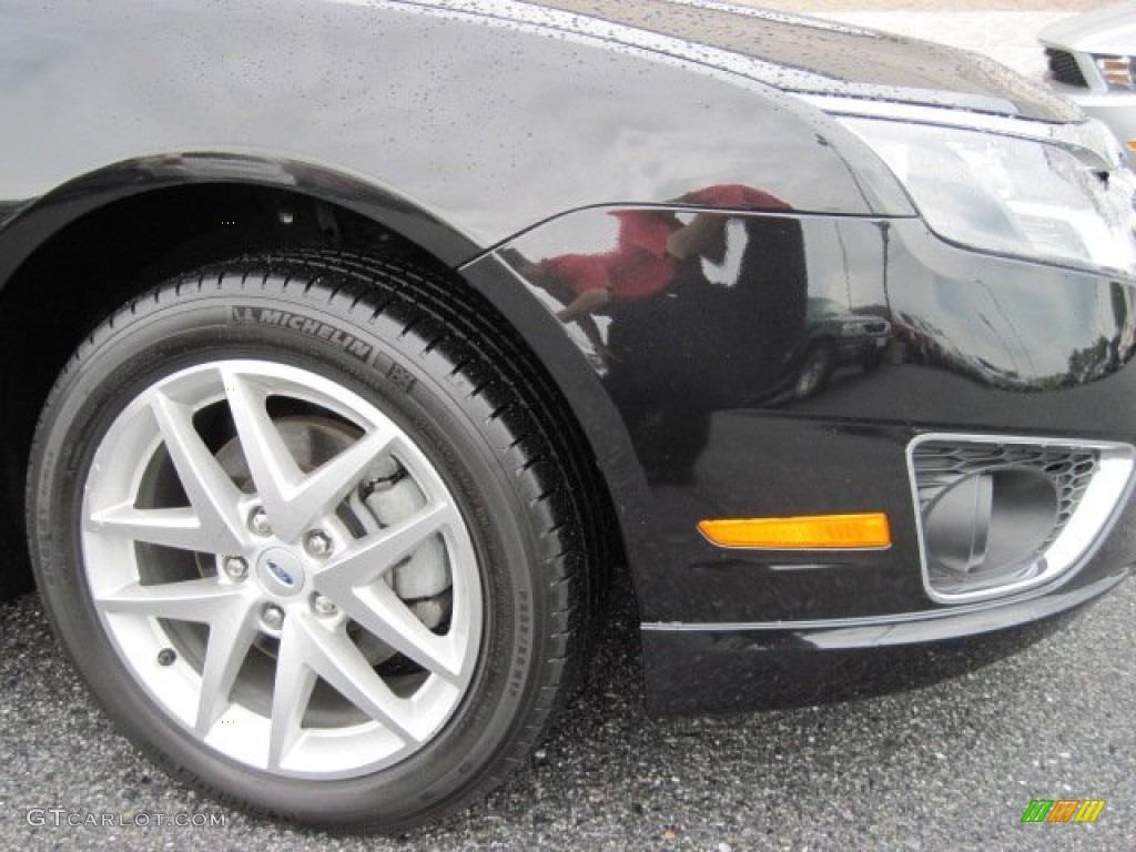 2011 Fusion SEL V6 - Tuxedo Black Metallic / Charcoal Black photo #4
