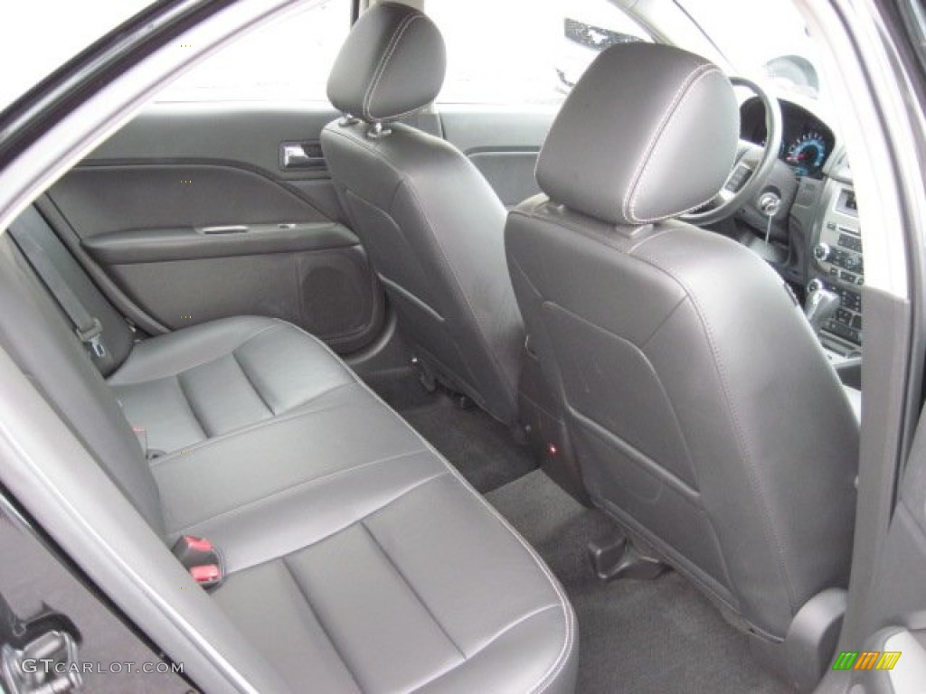2011 Fusion SEL V6 - Tuxedo Black Metallic / Charcoal Black photo #6