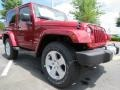 Deep Cherry Red Crystal Pearl 2012 Jeep Wrangler Gallery