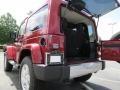 2012 Deep Cherry Red Crystal Pearl Jeep Wrangler Sahara 4x4  photo #8