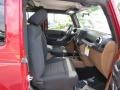 2012 Deep Cherry Red Crystal Pearl Jeep Wrangler Sahara 4x4  photo #9