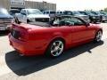 2007 Torch Red Ford Mustang GT Premium Convertible  photo #4