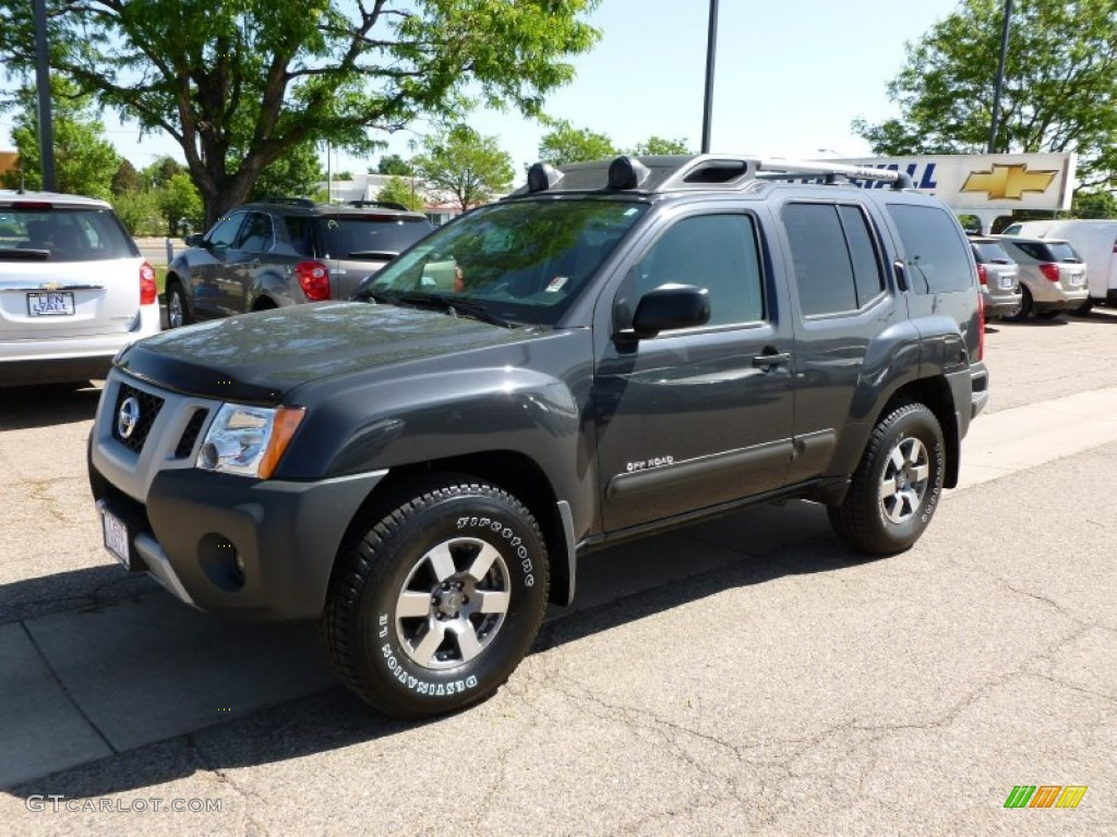2010 night armor metallic nissan xterra off road 4x4. Black Bedroom Furniture Sets. Home Design Ideas