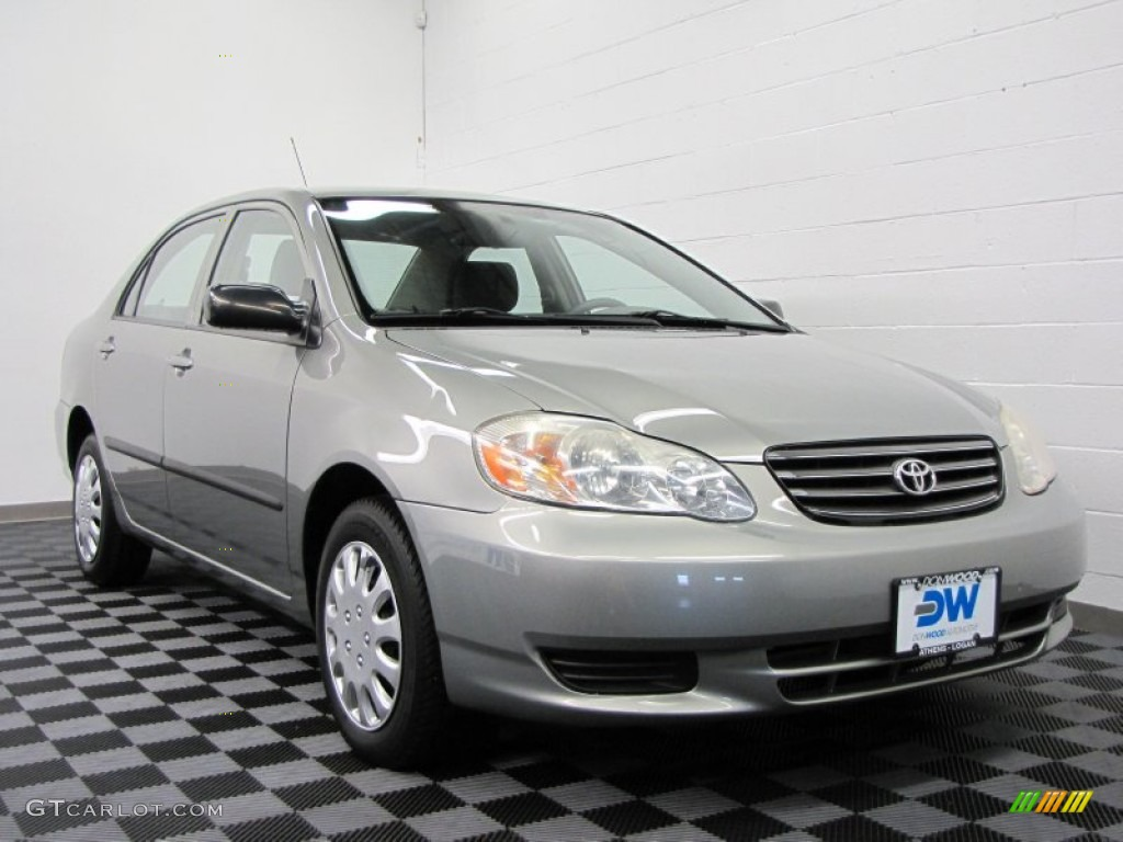 2004 mineral green toyota corolla ce 65138270 car color galleries. Black Bedroom Furniture Sets. Home Design Ideas