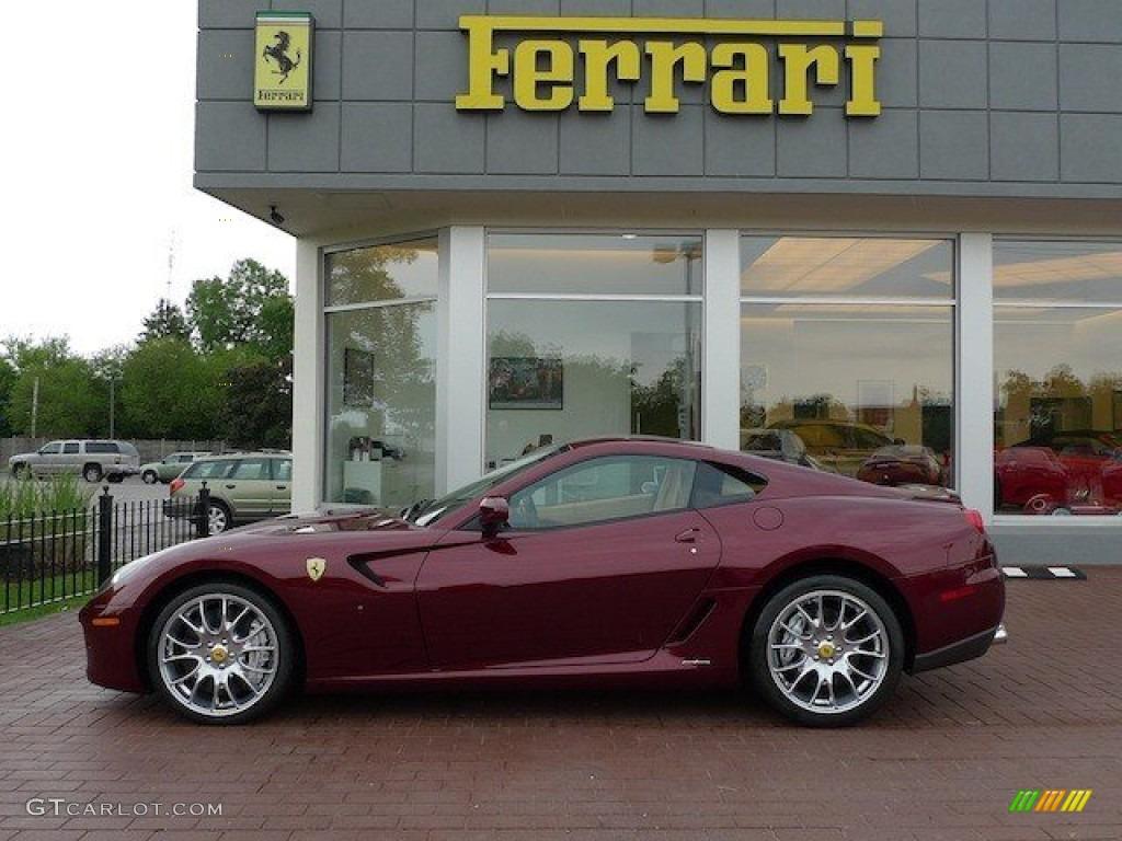 Metallic Car Paint Colors >> 2008 Rosso Rubino (Dark Red Metallic) Ferrari 599 GTB Fiorano F1 #65137586 | GTCarLot.com - Car ...