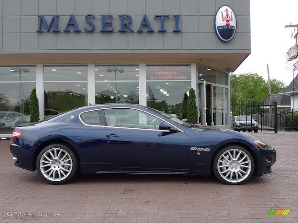 Maserati granturismo blue - photo#20