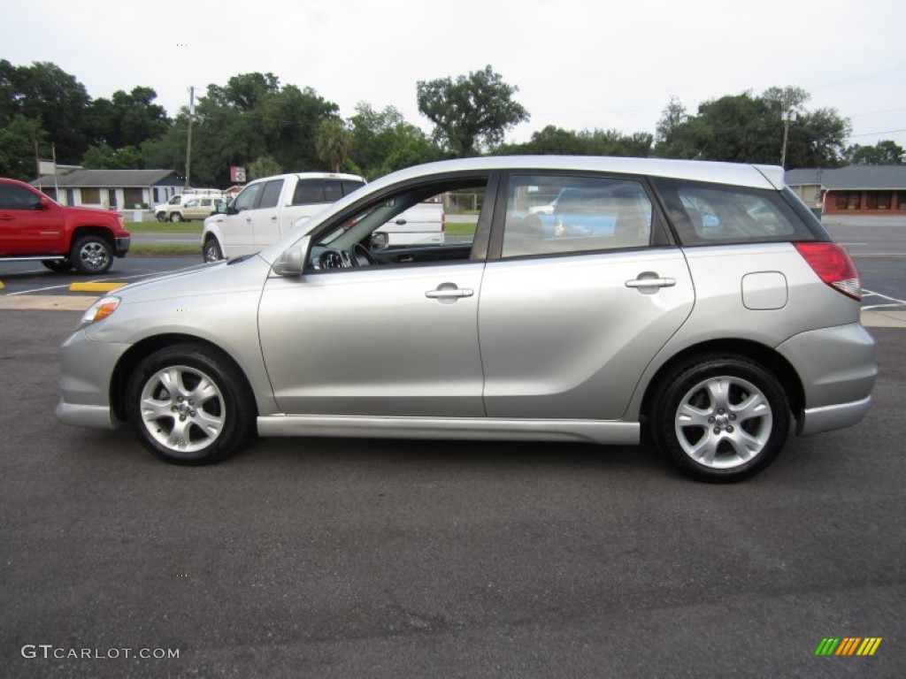lunar mist silver metallic 2004 toyota matrix xrs exterior. Black Bedroom Furniture Sets. Home Design Ideas