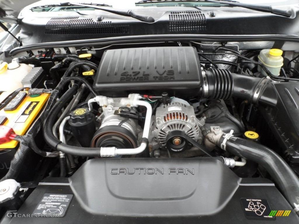 2003 Jeep Grand Cherokee Laredo 4 7 Liter Sohc 16