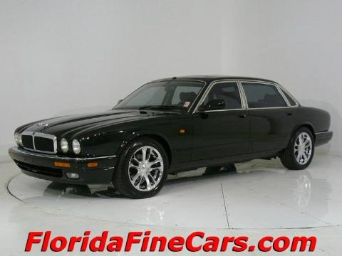 1997 Jaguar XJ Black