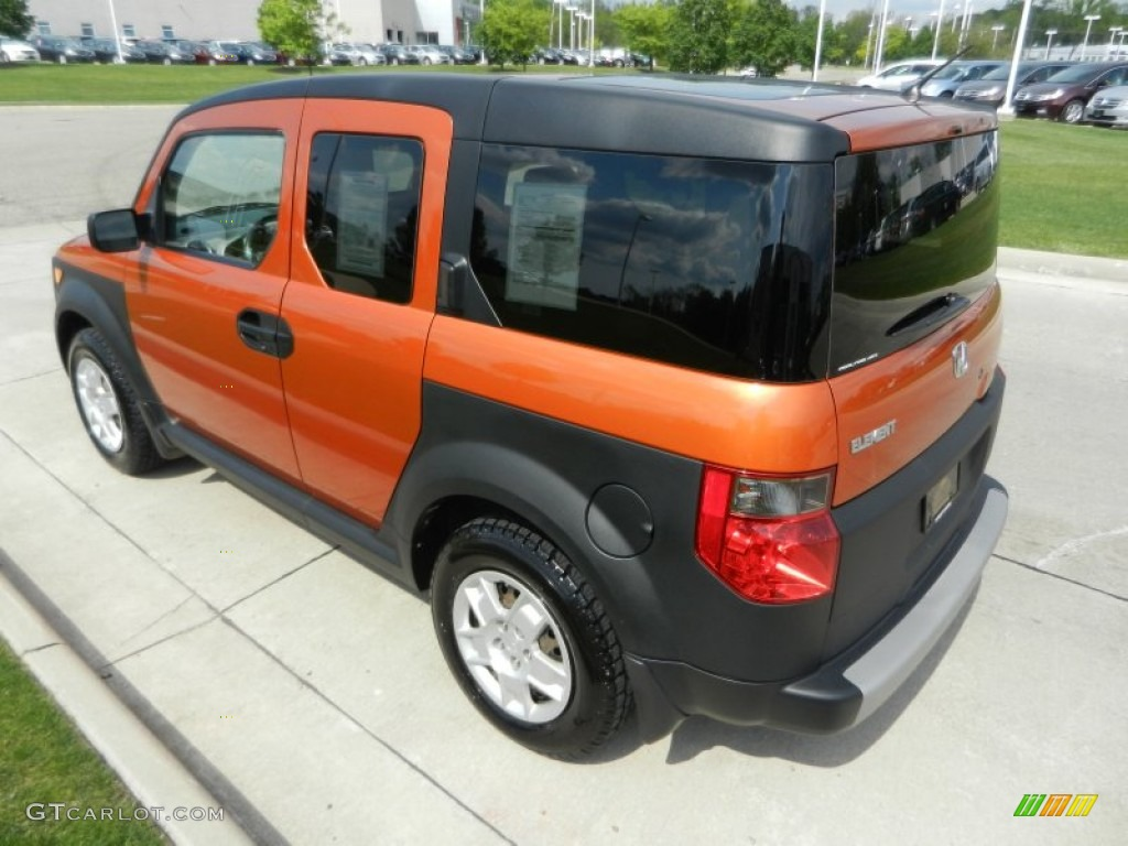 Tangerine Orange Metallic 2008 Honda Element Lx Awd Exterior Photo 65223052 Gtcarlot Com