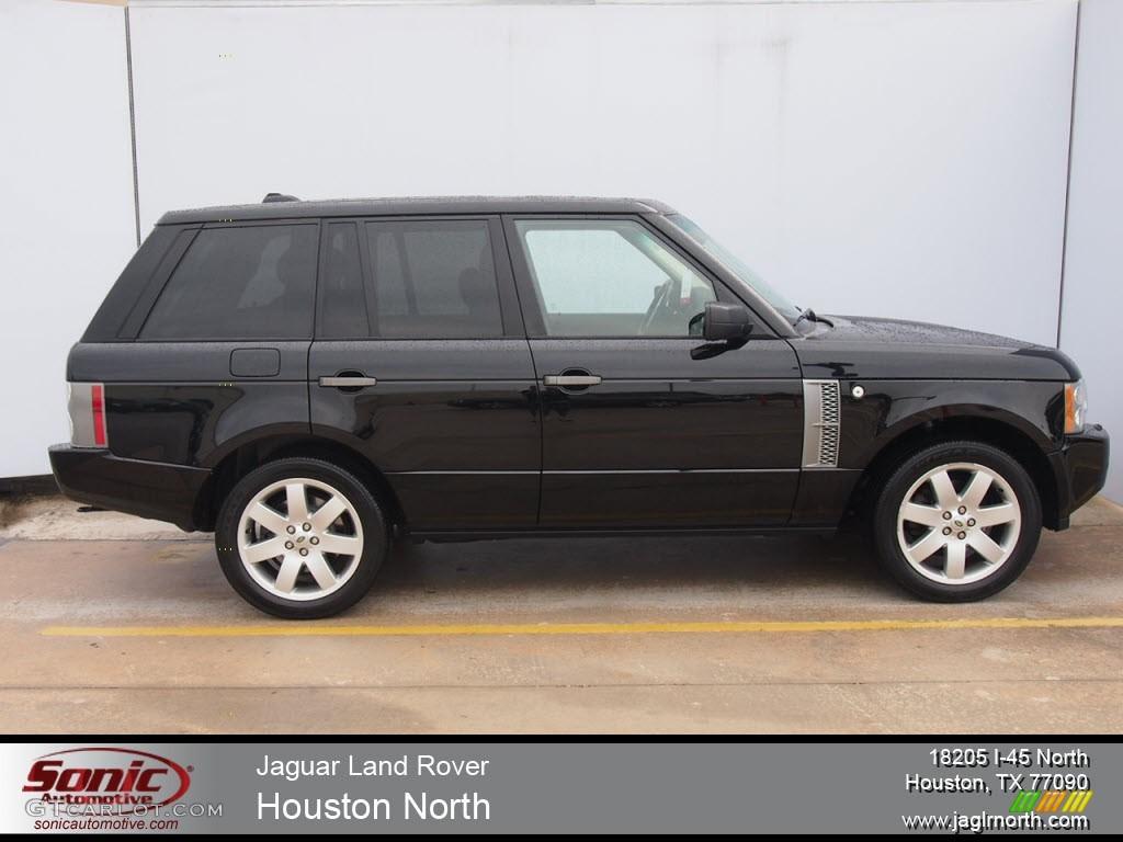2007 Range Rover HSE - Java Black Pearl / Charcoal photo #1