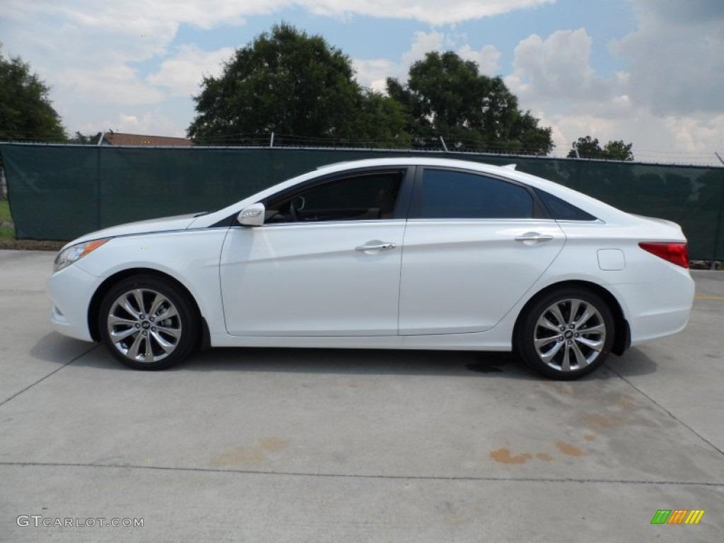 2013 Shimmering White Hyundai Sonata Limited 2.0T #65228857 Photo ...