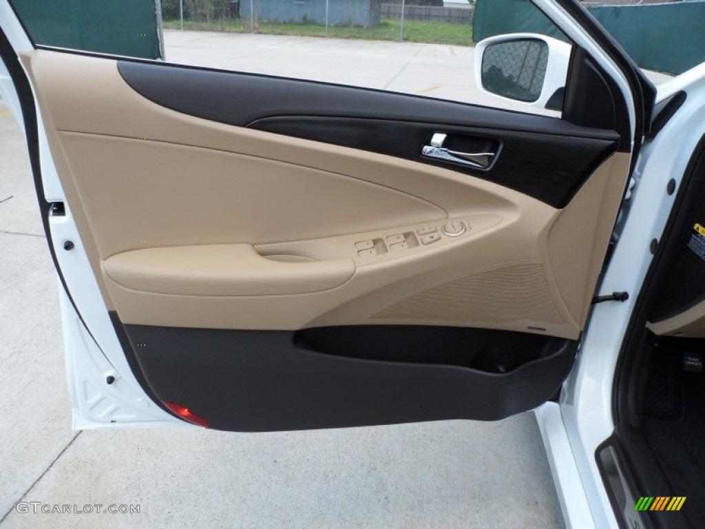 2013 Hyundai Sonata Limited 2 0t Camel Door Panel Photo