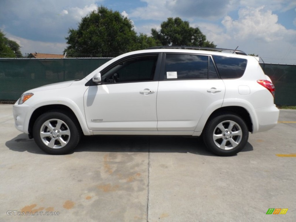 Blizzard White Pearl 2012 Toyota Rav4 Limited Exterior Photo 65246156