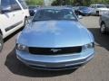 2007 Windveil Blue Metallic Ford Mustang V6 Deluxe Convertible  photo #2