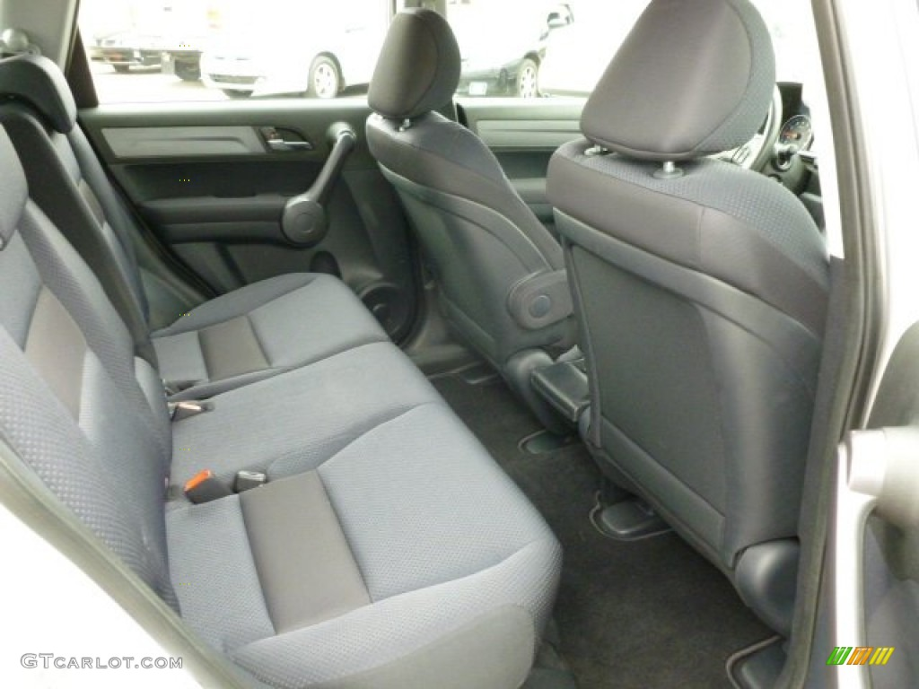2009 CR-V LX 4WD - Alabaster Silver Metallic / Black photo #12