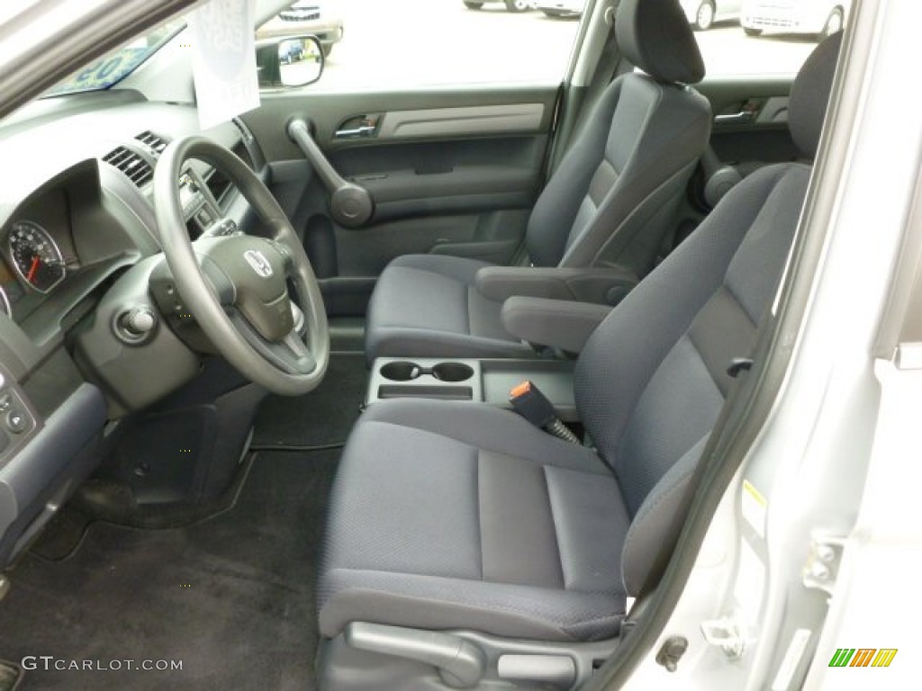 2009 CR-V LX 4WD - Alabaster Silver Metallic / Black photo #16