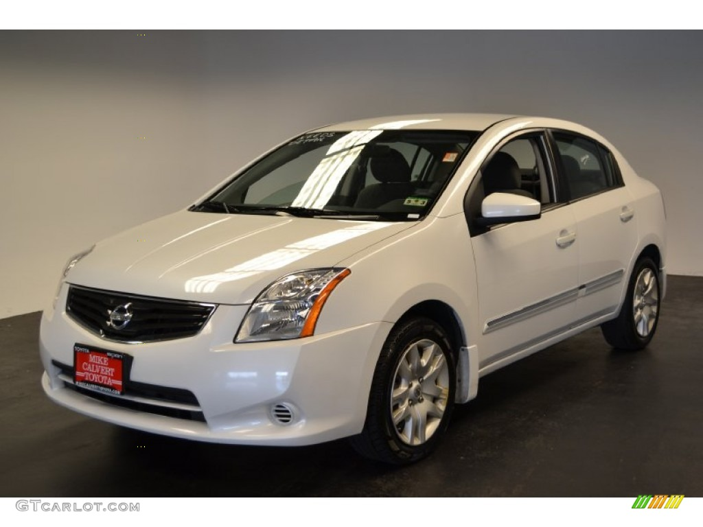 2010 Aspen White Nissan Sentra 2 0 S 65229214 Photo 12