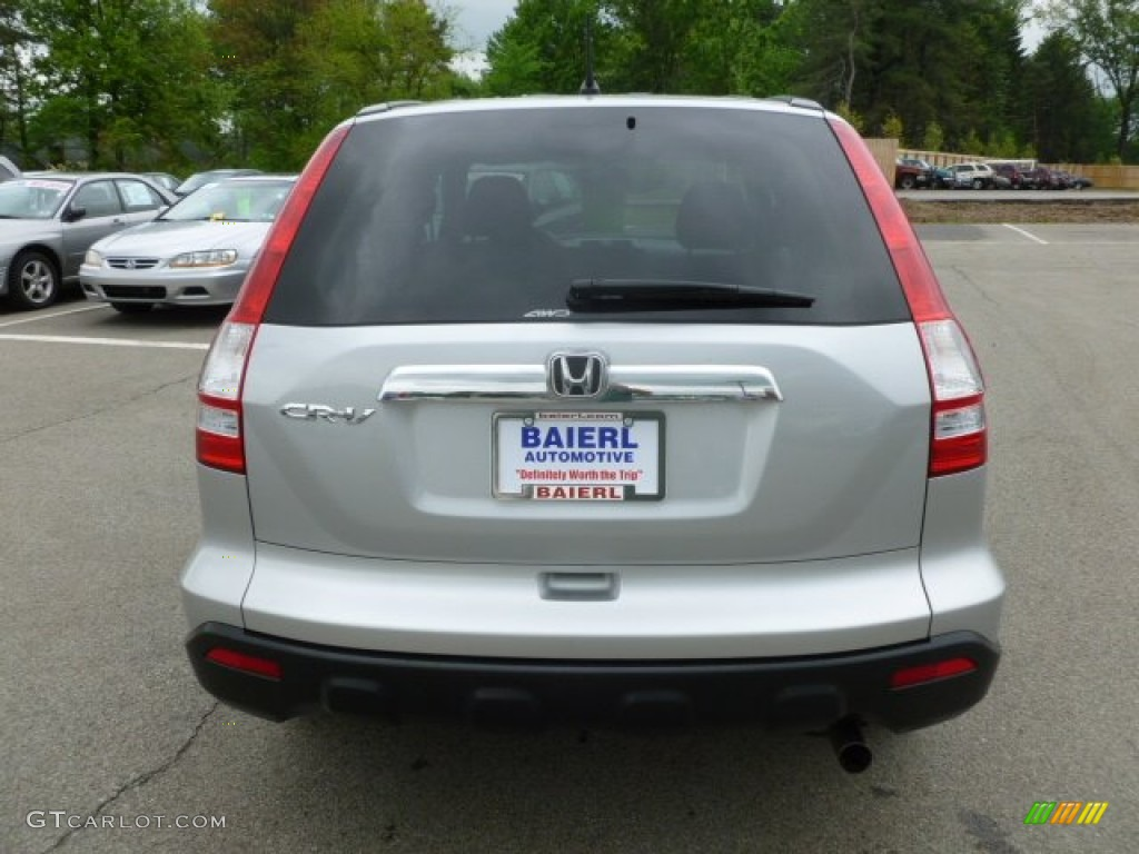 2009 CR-V EX 4WD - Alabaster Silver Metallic / Black photo #6