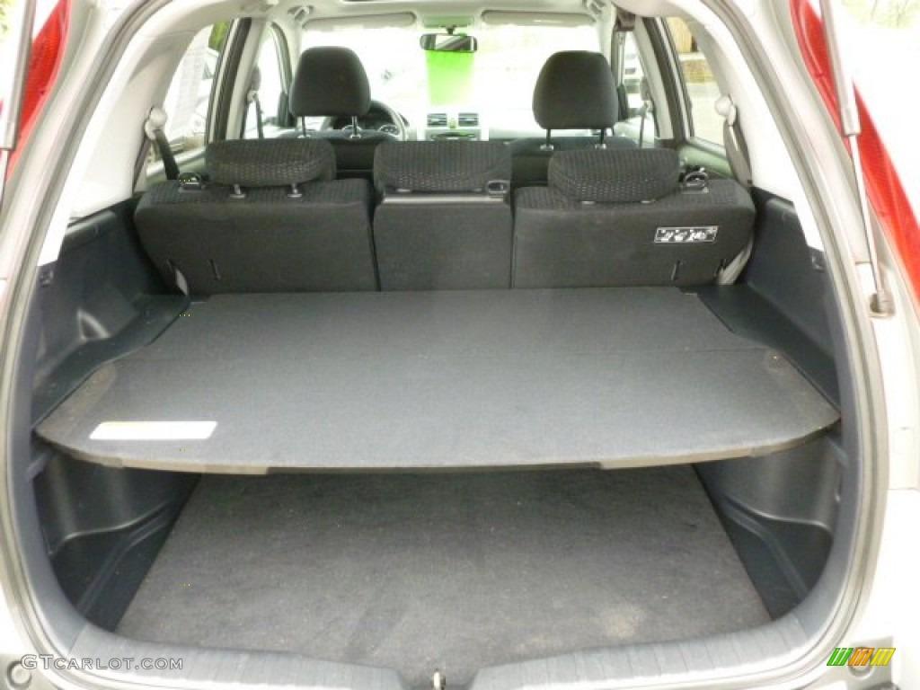 2009 CR-V EX 4WD - Alabaster Silver Metallic / Black photo #13
