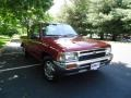 Garnet Red Pearl 1992 Toyota Pickup Deluxe Extended Cab